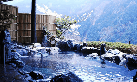 Onsen, Japan's hot springs , famous and miraculous