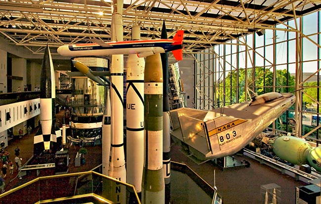 The Smithsonian National Air and Space Museum – Washington, D.C.