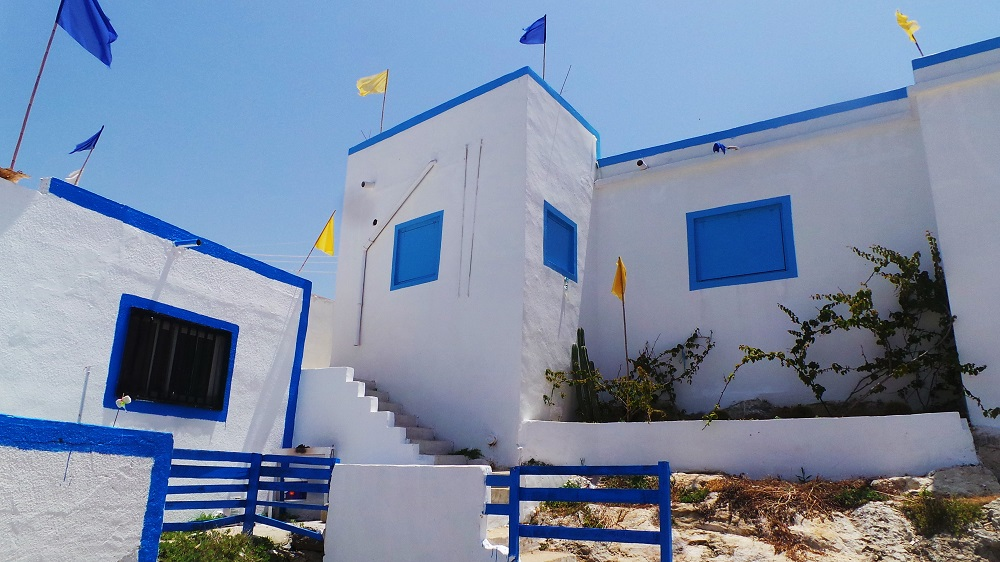 Afneh, the Greek-style Lebanese town