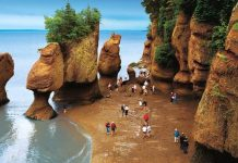 Canada's Bay of Fundy, the joy of walking on the ocean's floor