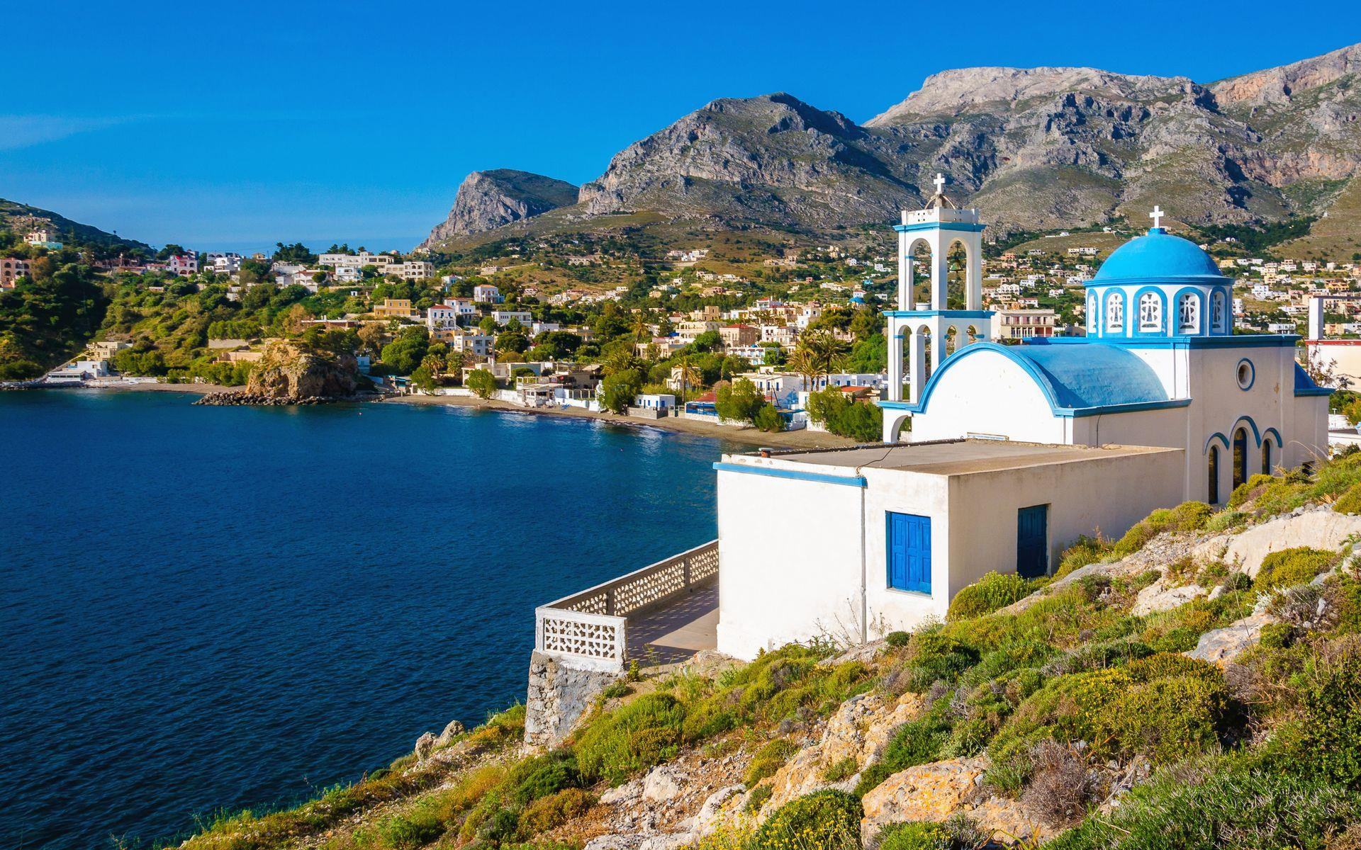 Kalymnos Island, the Dodecanese Islands, Greece