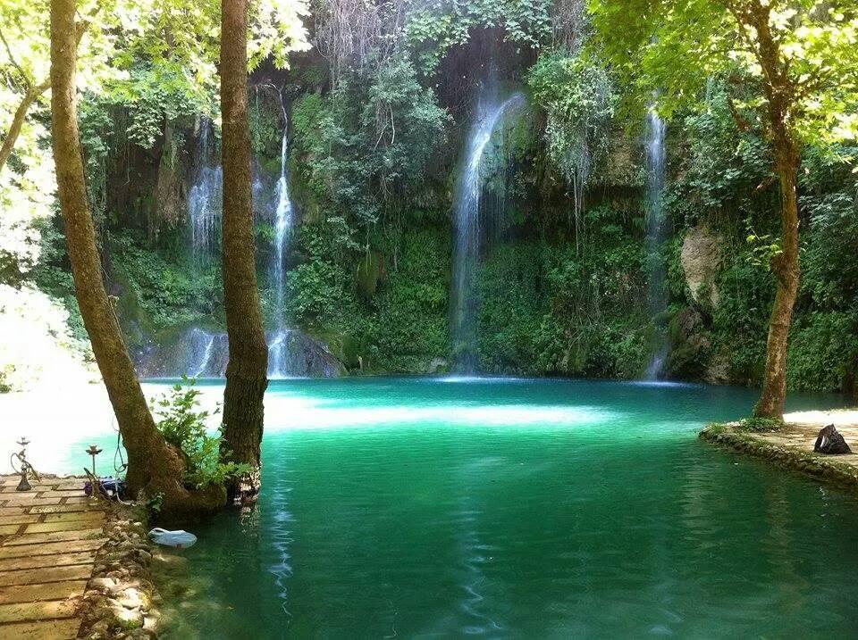 Lebanon's Paradise Waterfalls, the perfect picnic spot