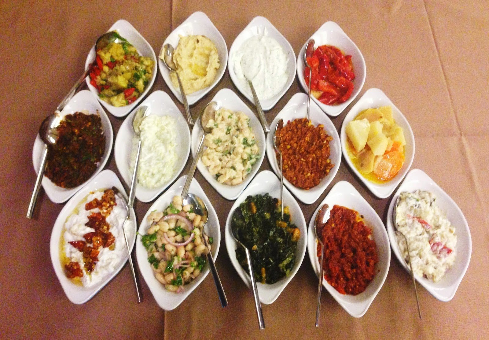 Meze - Mouthwatering Turkish dishes