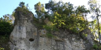 Beautiful rock climbing spots