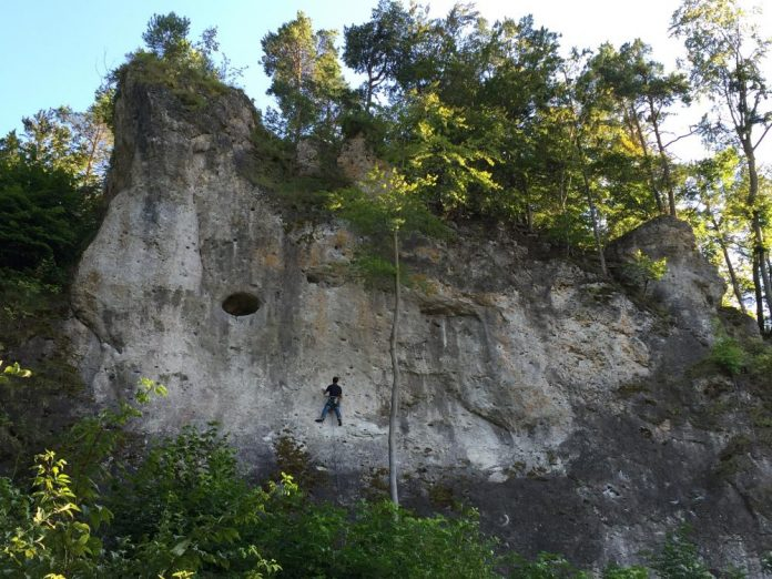 Beautiful rock climbing spots