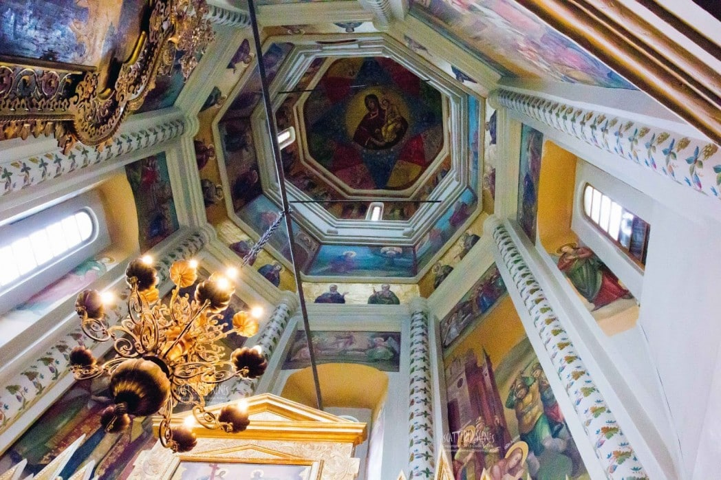 The unique architecture of Saint Basil's Cathedral in Moscow