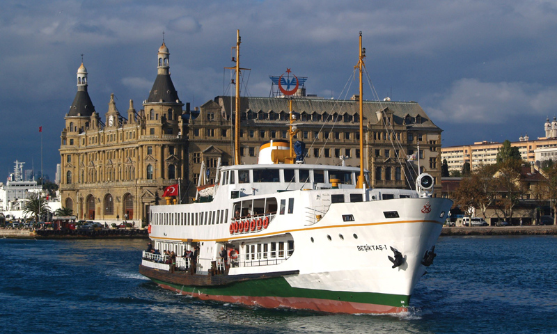 Top 5 things to do in Turkey's Istanbul - Ferry in Bosphorus