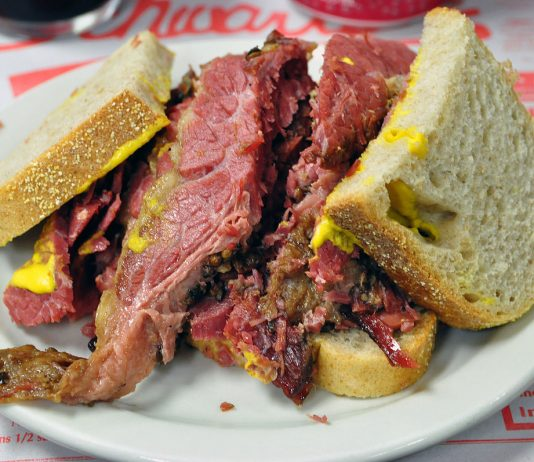 Montreal-style Smoked Meat - delicious Canadian traditional foods